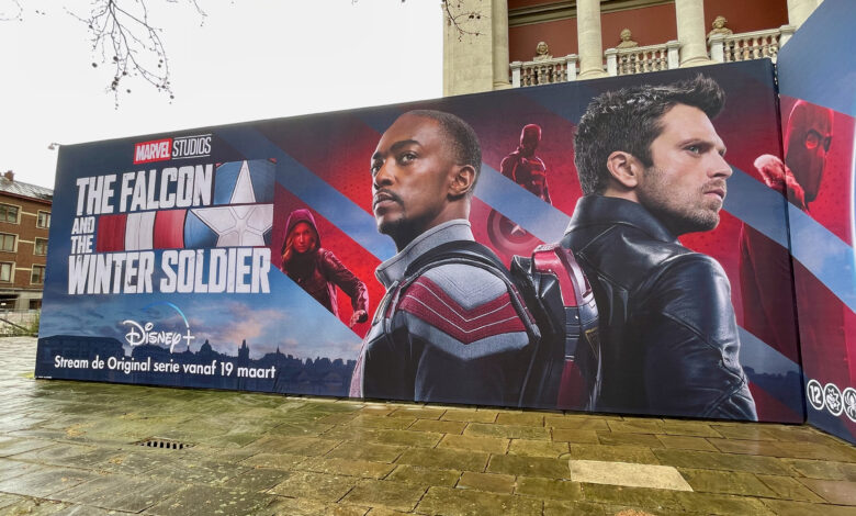 The Falcon and The Winter Soldier in Antwerpen -